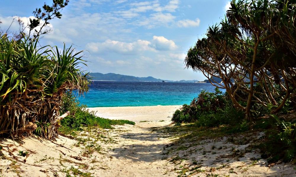 Zamami beach